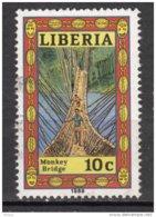 Libéria, Pont, Bridge, Monkey Bridge - Ponts