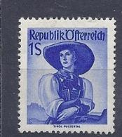 190032166  AUSTRIA  YVERT   Nº  750  */MH - 1945-60 Unused Stamps