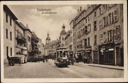 Cp Thionville Diedenhofen Lothringen Moselle, Bismarckstraße, Straßenbahn 7 - France