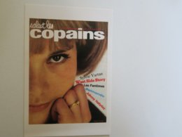SL - CPM - REPRODUCTION Couverture Salut Les Copains  - Sylvie VARTAN - Publicité