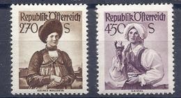 190032169  AUSTRIA  YVERT   Nº  805/7  */MH - 1945-60 Unused Stamps