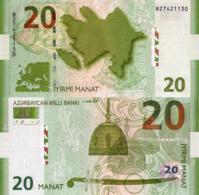 AZERBAIJAN, 20 MANAT, 2005, P28, UNC - Azerbaïjan