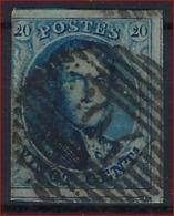 Medaillon 20 Cent Met  Afstempeling P104 Van ST - HUBERT Met 4 GEBUREN ; Staat Zie Scan ! Inzet Aan 2 € ! - Belgium
