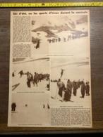 1932 1933 M SKI D ETE SPORTS D HIVER DURANT LA CANICULE SAINT MORITZ PIC CORVATSCH CESARE CHIOGNA - Sammlungen