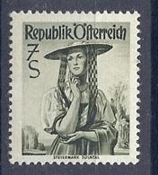 190032174  AUSTRIA  YVERT   Nº  807A  */MH - 1945-60 Unused Stamps