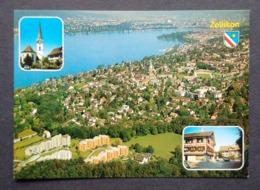 SWITZERLAND, ZOLLIKON AM ZURICHSEE GENERAL VIEW PANORAMA - ZH Zurich