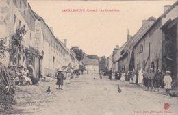23- LAVILLENEUVE (Creuse)- La Grand'Rue- Animation- Edit. LUQUET Bourganeuf- - France