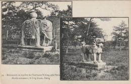 ***  CHINE CHINA ***  Monuments En Marbre Des Tombeaux Si Ling Près PEKIN  TTB Unused - Cina