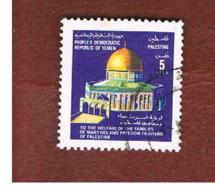 YEMEN  (PEOPLE DEMOCRATIC REPUBLIC) -  SG 264  -    1981  PALESTINIAN WELFARE    -  USED - Yemen