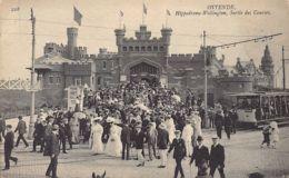 OOSTENDE Ostende - Hippodrom Wellington Sortie De Courses - Tramway - Ed. Neurdein ND Phot. 228. - Oostende