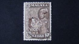Malaysia - Kedah - 1959 - Mi:MY-KE 100a, Sn:MY-KE 100, Yt:MY-KE 106, Sg:MY-KE 109 O - Look Scan - Kedah