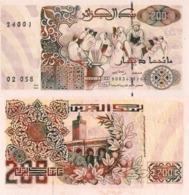 ALGERIA, 200 Dinares, 1992, P138, UNC - Algeria