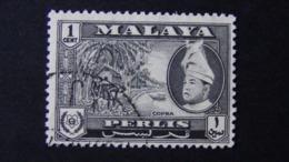 Malaysia - Perlis - 1957 - Mi:MY-KL 88, Sn:MY-KL 89, Yt:MY-KL 95, Sg:MY-KL 101 O - Look Scan - Perlis