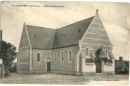 Louisfert L Eglise Nord Ouest - France