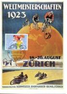 SUISSE. N°1187 De 1983 Sur Carte Maximum. Cyclisme. - Cyclisme