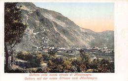 Montenegro - CATTARO Mit Der Neuen Strasse Nach Montenegro - Publ. Purger. - Montenegro
