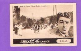 CPA FRANCE TOUR DE FRANCE VELO NIMES - TOULON EQUIPE Louvet Hutchinson Collé - Cyclisme