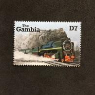 THE GAMBIA. MNH. TRAINS. 5R0905E - Eisenbahnen