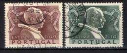 PORTOGALLO - 1951 - CHIUSURA DELL'ANNO SANTO IN FATIMA - USATI - Oblitérés