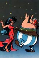 CPM - BD ASTERIX - OBELIX Et LA GITANE - GOSCINNY & UDERZO - Edition Dargaud - Comics