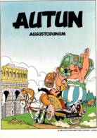 CPM - BD ASTERIX - AUTUN - Dessin UDERZO - Edition Combier - Comics