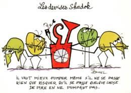 CPM - LES SHADOKS - SERIE TV D'animation Crée Par Jacques ROUXEL - LES DEVISES ... Edition Nlles Images - Spectacle