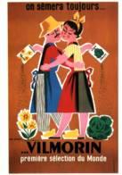 CPM - AFFICHE De JEAN NORBERT - VILMORIN - Edition Bibliothèque Forney - Publicité