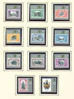 ST HELENA - 1984 Stamp On Stamp Definitives Set Unmounted/Never Hinged Mint - Saint Helena Island