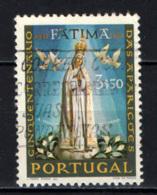 PORTOGALLO - 1967 - CINQUANTENARIO DELLE APPARIZIONI DI FATIMA - USATO - Oblitérés