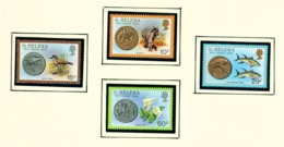 ST HELENA - 1984 Coins Set Unmounted/Never Hinged Mint - Saint Helena Island