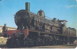 TARJETA DE LIBERIA DE UN TREN DE 200 UNITS  (TRAIN-ZUG) - Treni