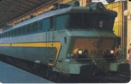 TARJETA DE LIBERIA DE UN TREN DE 100 UNITS  (TRAIN-ZUG) - Trenes