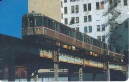 TARJETA DE LIBERIA DE UN TREN DE 100 UNITS  (TRAIN-ZUG) - Treni