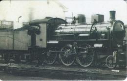 TARJETA DE LIBERIA DE UN TREN DE 10 UNITS  (TRAIN-ZUG) - Eisenbahnen