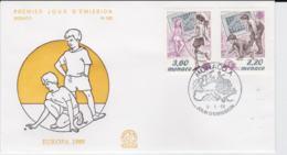 Monaco 1989 FDC Europa CEPT  (G104-11) - 1989