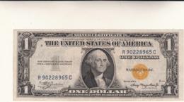 Banconota Da 1 Dollaro USA 1935 A - Giallo Africa - Certificaten Van Zilver (1928-1957)