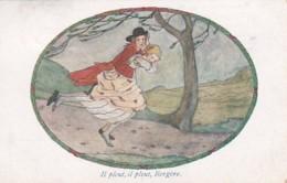 187811Rie Cramer, Bergerettes, Ilp Leut, Il Pleut, Bergère….(poststempel 1926)(minuscule Vouwen In De Hoeken) - Illustratori & Fotografie