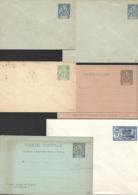 INDE  FRANCAISE  : Lot De 6  Entiers Postaux    : Neuf - Inde (1892-1954)