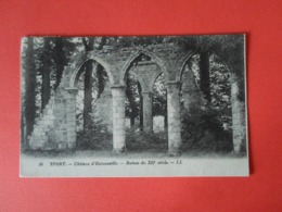 Seine Maritime  Yport  Château D'Hainneville Ruines Du XII Siècle - Yport