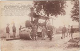 CPA TYPES DU MORVAN  ROULEAU A VAPEUR - Tracteurs