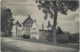 +/- 1919, IN VLAANDERENLAND, LANGS DE WEG, MELLE ??? - Melle