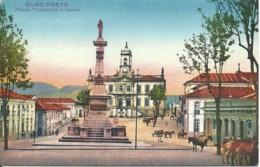 Brasil - Ouro Preto - Praça Tiradentes E Cadeia - Brazilië
