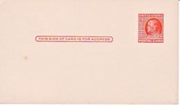 USA : Carte Entier Postal Neuf - Franklin - Postwaardestukken