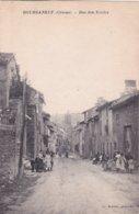 23-BOURGANEUF (Creuse)-Rue Des Ecoles- Ecrite- Timbrée- Edit. Ch. Rebière- - Bourganeuf