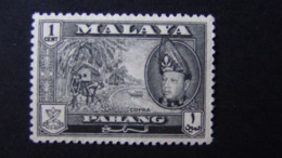 Malaysia - Pahang - 1957 - Mi:MY-PA 65, Sn:MY-PA 72, Sg:MY-PA 75*MH - Look Scan - Pahang
