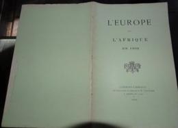 L'europe Et L'afrique En 1902  Jules Maistre Clermont L'hérault - Documentos Antiguos