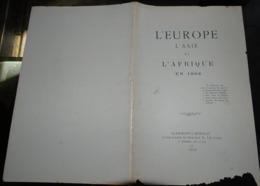 L'europe L'asie Et L'afrique En 1902  Jules Maistre Clermont L'hérault - Documentos Antiguos