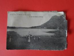 JURA  Clairvaux Les Lacs Le Lac Et Le Château De Bonlieu - Clairvaux Les Lacs