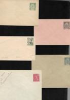 INDOCHINE  FRANCAISE  : Lot De 9  Entiers Postaux  Neufs - Indochine (1889-1945)