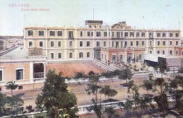 EGYPT : VINTAGE COLOUR PICTURE POST CARD : THE CAIRO POSTCARD TRUST : HELOUAN : GRAND HOTEL - Cairo